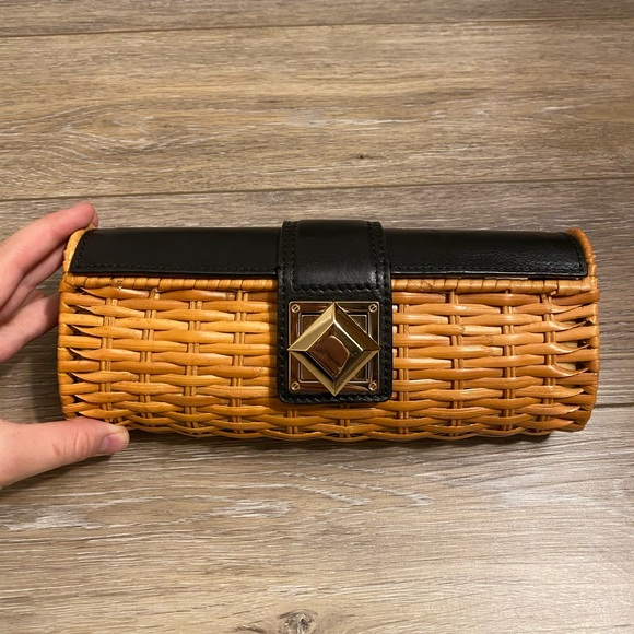 Michael Kors Handbags - Michael Kors Woven Clutch